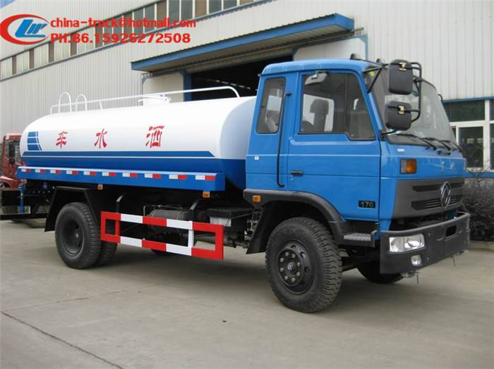sell 5Ton water tanker truck
