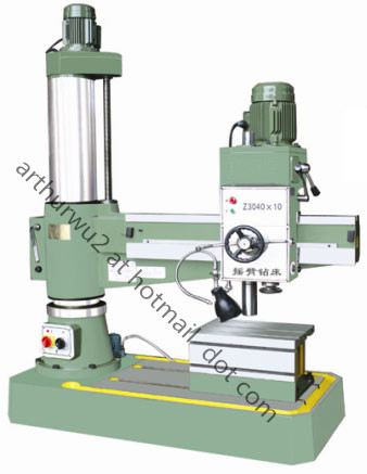 Z3040 Radial Drilling Machine(hydraulic clamping device optional)