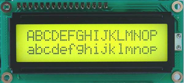 Sell 16x2 characters lcd module