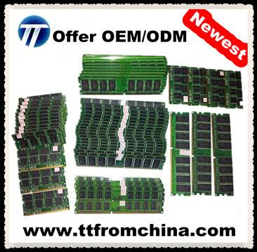 high quality factory desktop/laptop/server ddr/ddr2/ddr3 ram