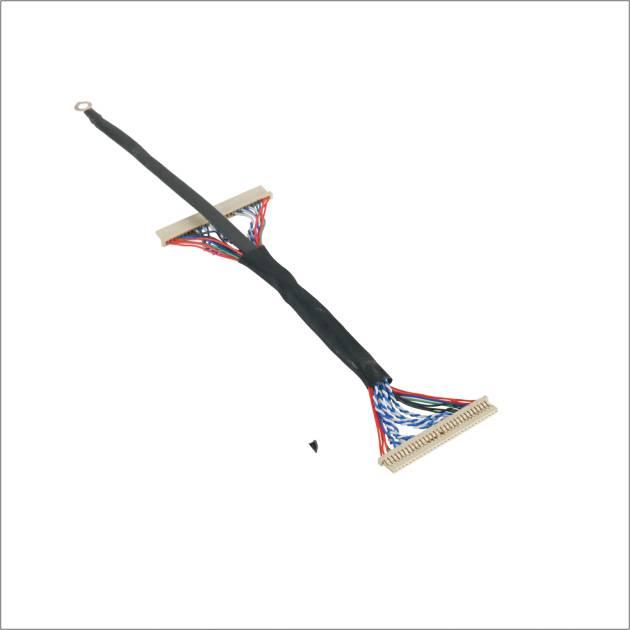 I-PEX cable 20453-030T,I-PEX20455-030El