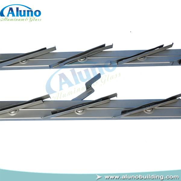Aluno Steel Louvre Window Frames