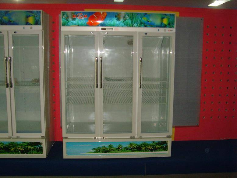 Two/three/four doors upright showcase cooler