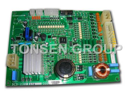 LG-sigma Elevator Door Operator PCB DCD-230