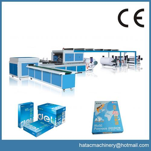 CNC A4 Paper Slitting Industrial Machinery