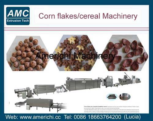 Breakfast cereals machines