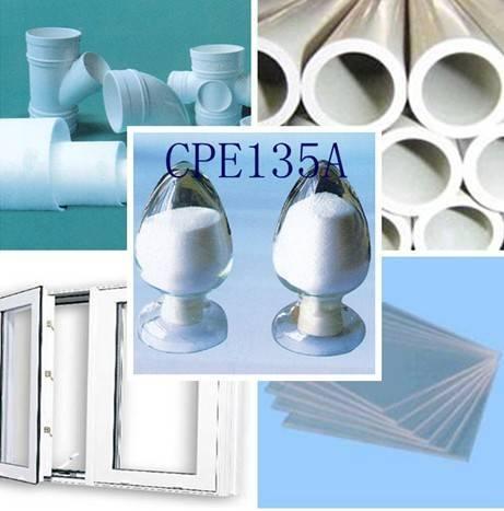 PVC impact modifier Chlorinated Polyethylene135A
