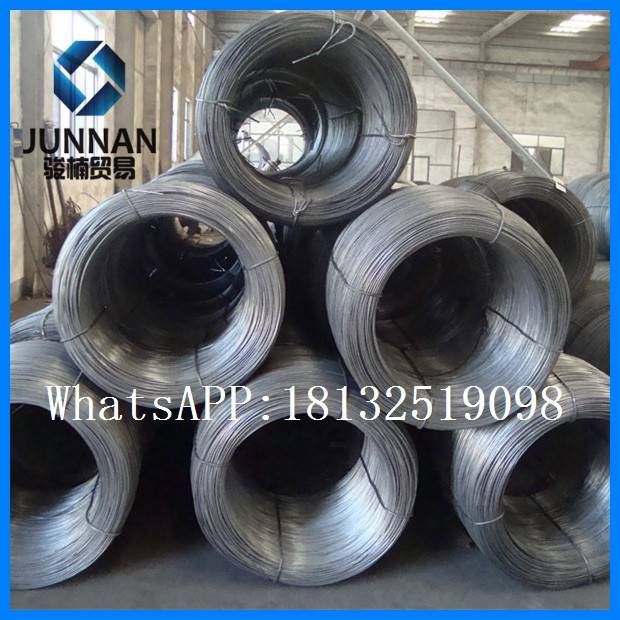 Q195 low carbon hot rolled wire rod 6.5mm