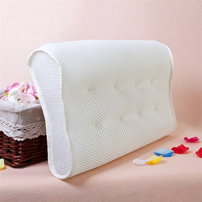 top selling summer 3d mesh fabric contour pillow