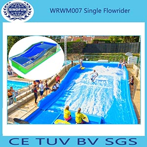 single flowride,wave box, surf slide