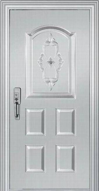 Customized stainless steel panel door JHB132