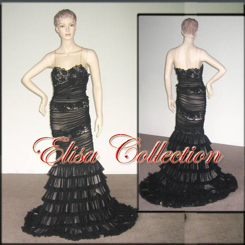 Classic prom gown Evening gown