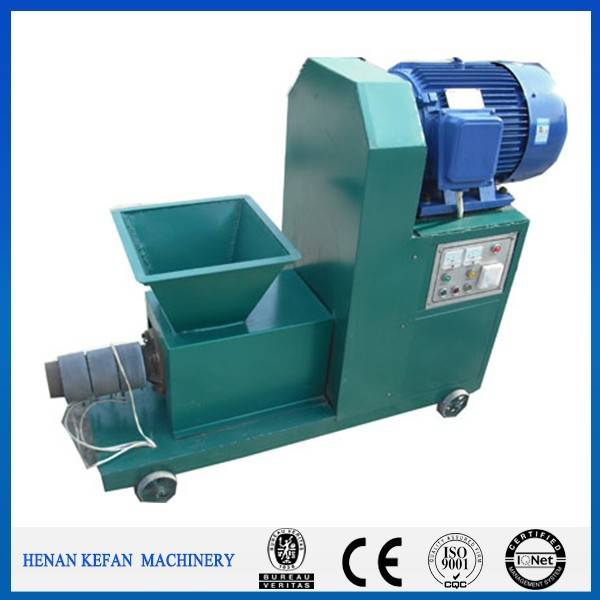 Charcoal briquette machine using carbon powder as raw material