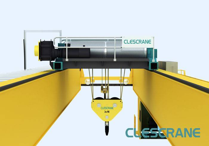 CWD Series High Quality Double Girder Wireless Remote Control Overhead Bridge Crane