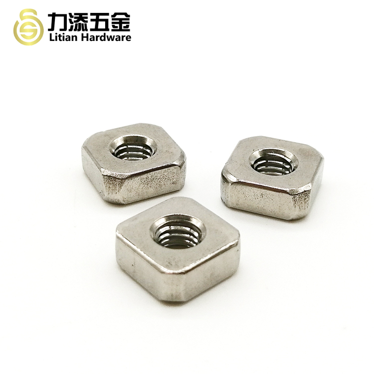High quality DIN557 square nut m2.5 for furniture