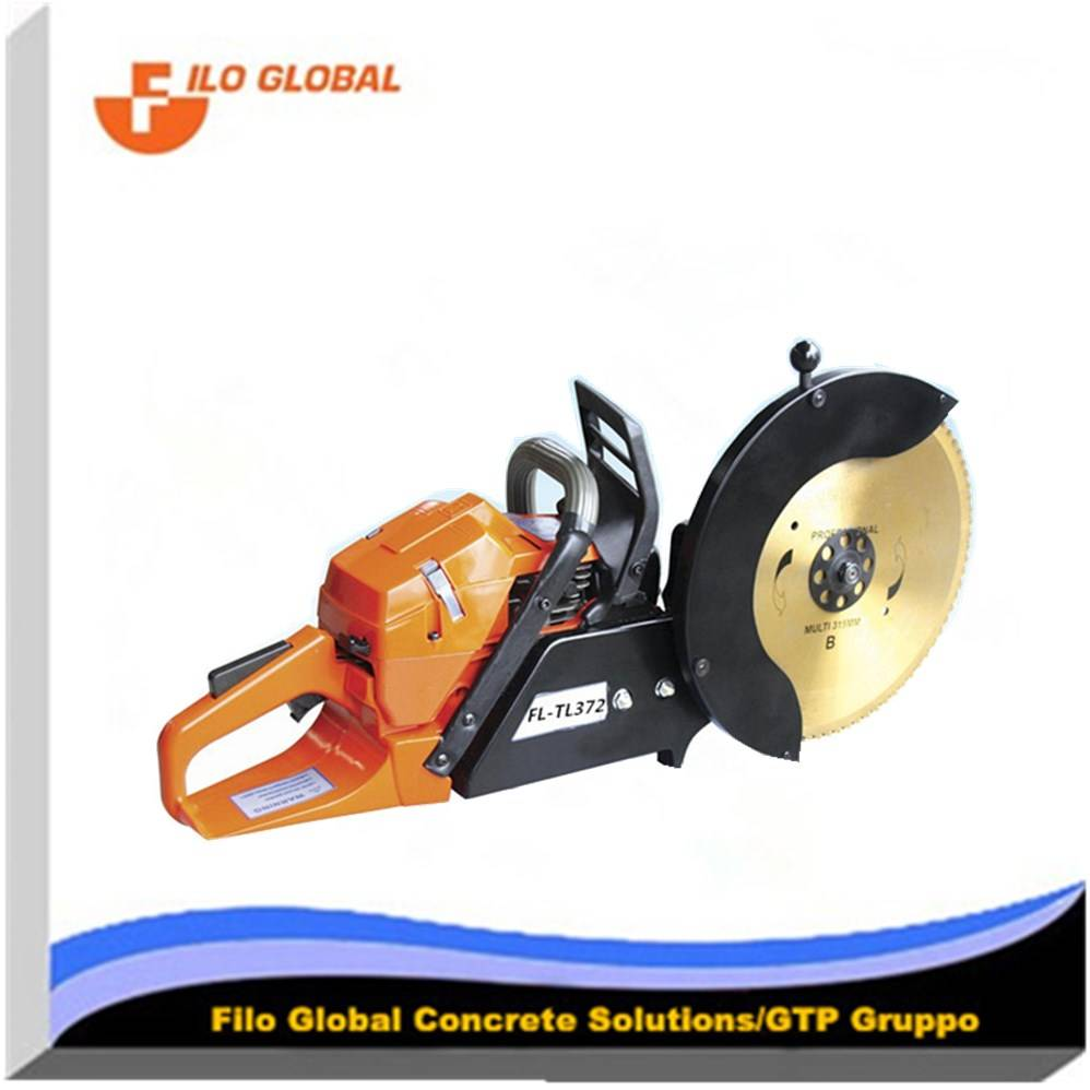 71.8CC rescue concrete saw for Safety cut off saw