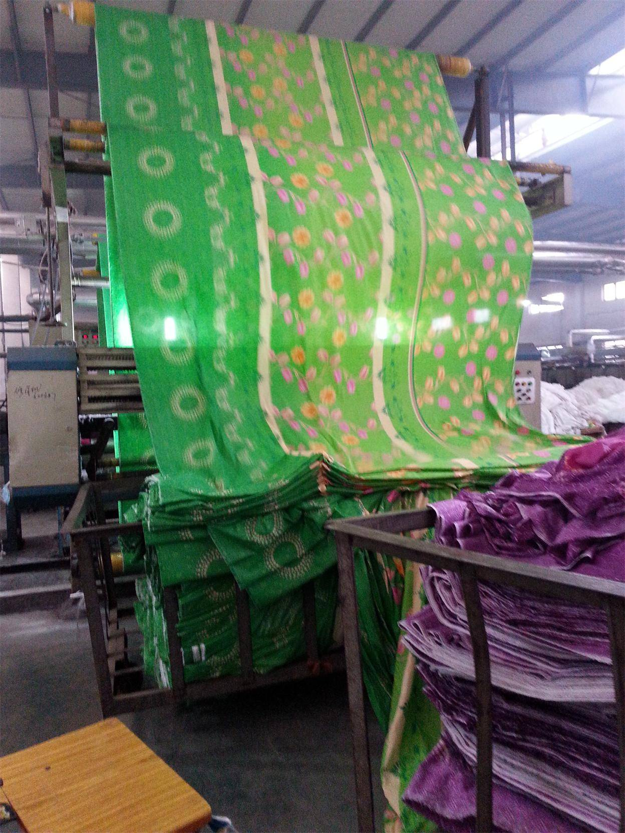 100% polyester fabirc pigment printing for home textiles