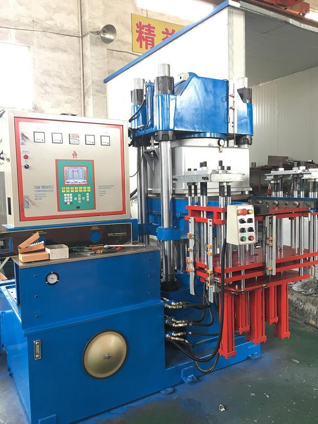 250 TON Single Station Vacuum Rubber Compression Molding Press Machine