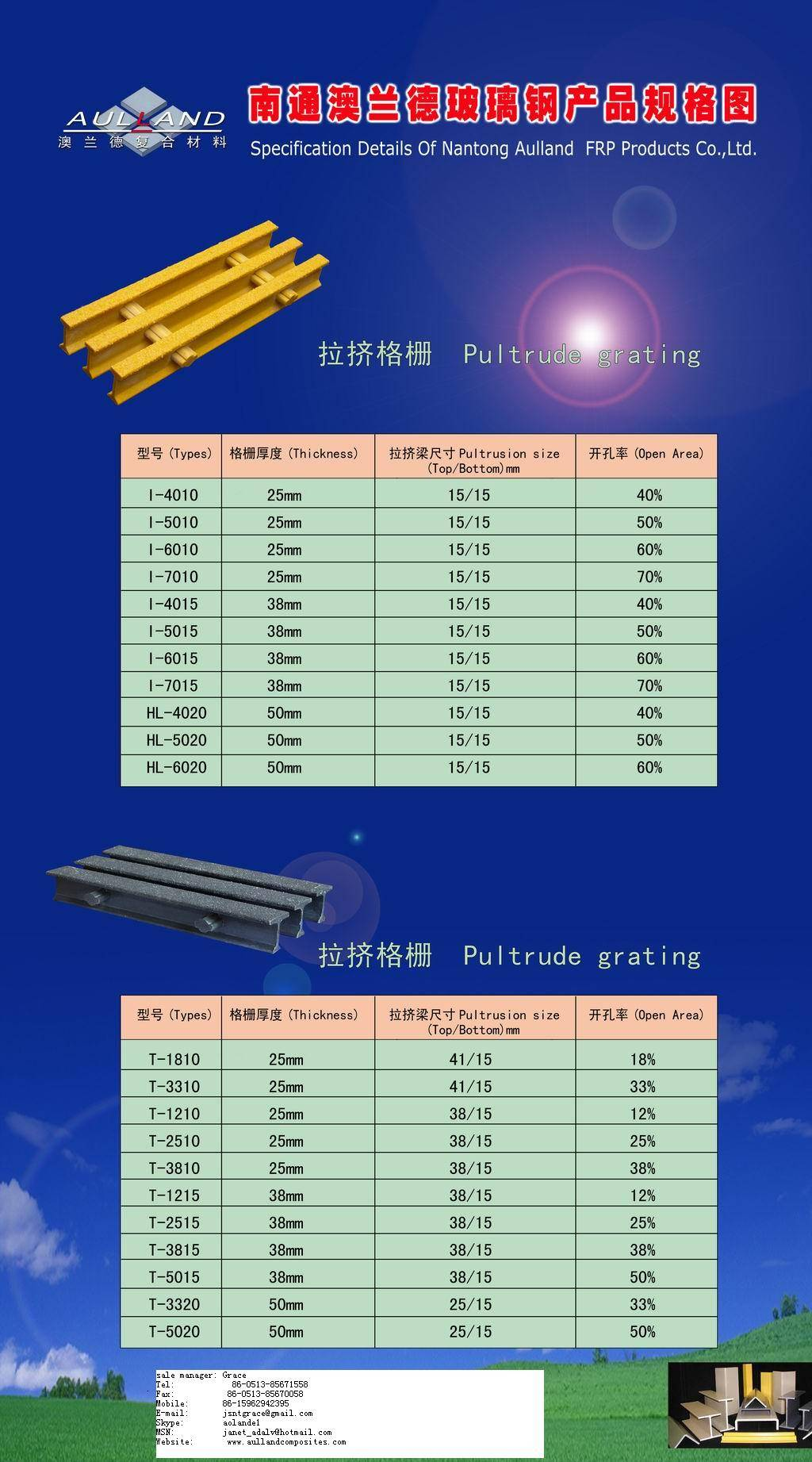 sell grating, FRP gratings, pultruded grating