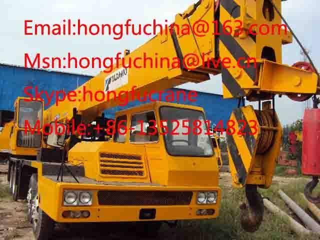 30t TADANO TL-300E truck crane for sale