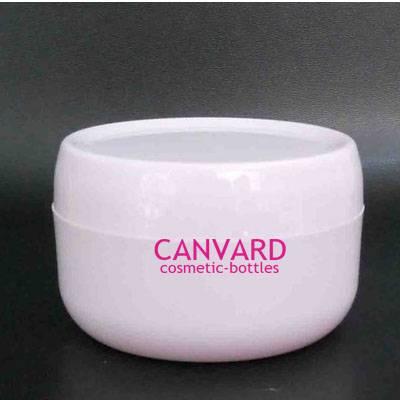 50g-100g-200g white empty plastic jar