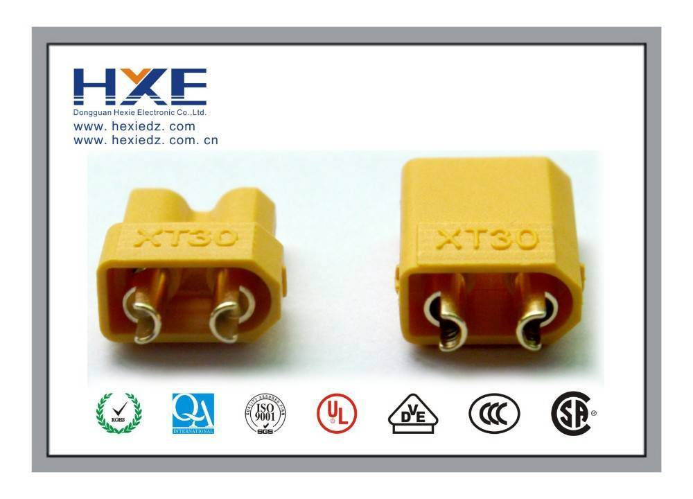 XT30 2mm Antiskid Plug Connector