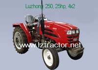 2WD By Wheel and New Condition Farm Tractor; LZTractor-Luzhong 250