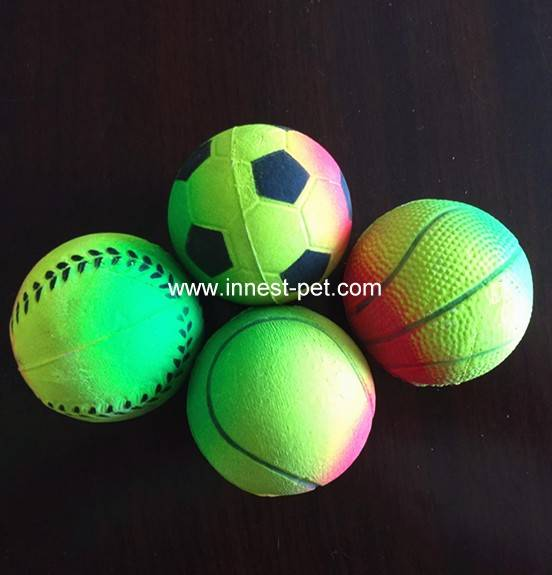 Pet Proucts Dog Training Rubber Toy Hollow Ball