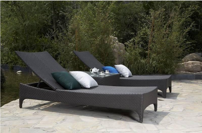 Rattan Patio Furniture Poly Rattan Lounge