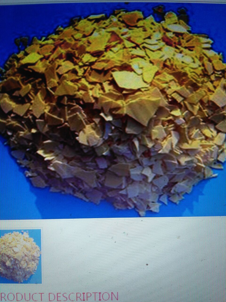 Sodium sulphide yellow flake