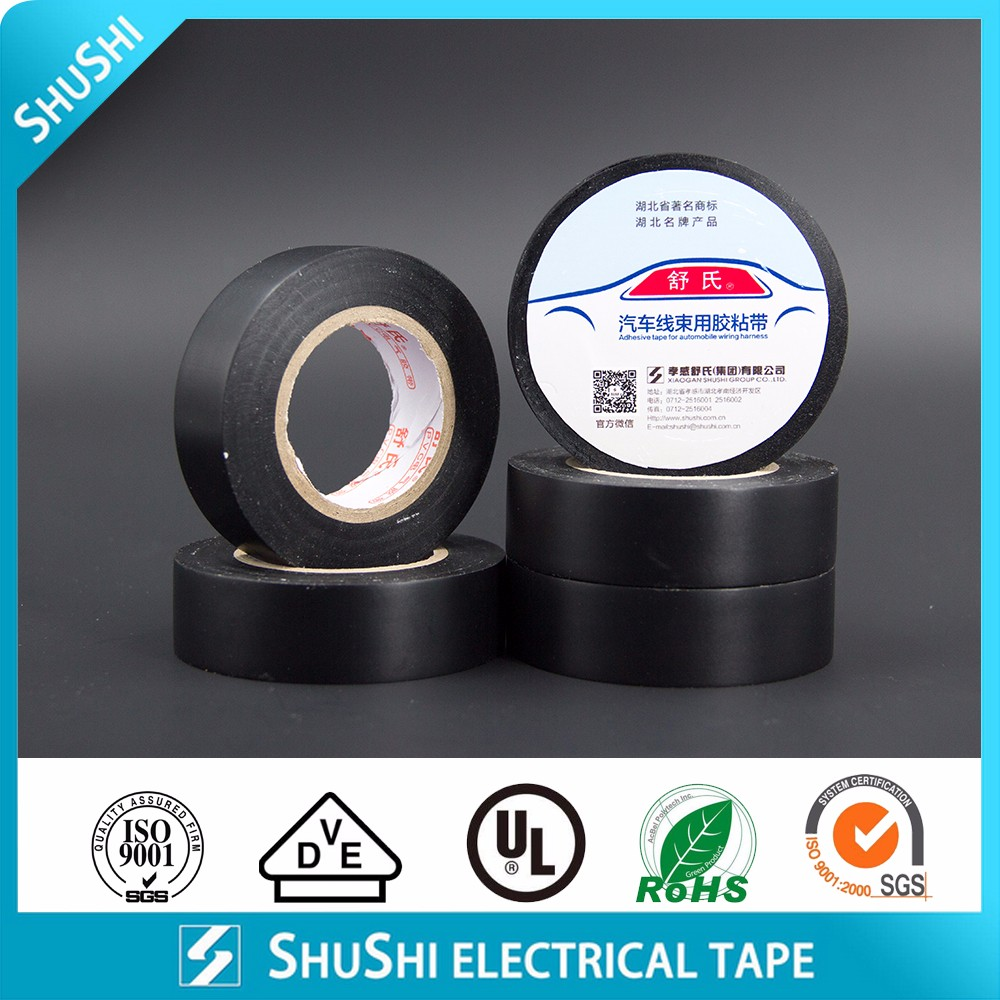 Rohs Pvc Wiring Harness Electrical Tape Manufacturer Supplier Automotive Loom Exporter