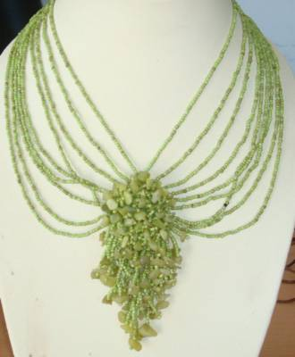 shell necklace from bali bead