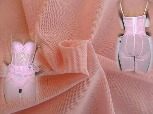 Power Stretching Mesh Fabric For Shapewear