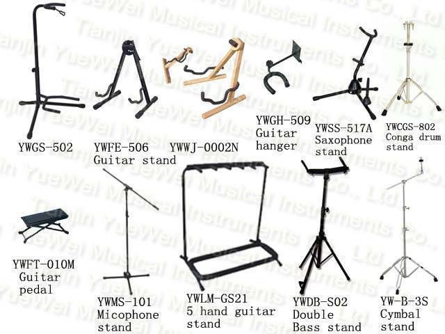 Music Stand, Guitar Stand, Drum Stand, Cymbal Stand