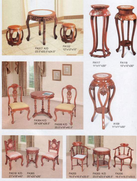 Offer to Sell hand Carved Wooden Furniture