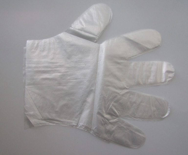 supply disposable pe glove