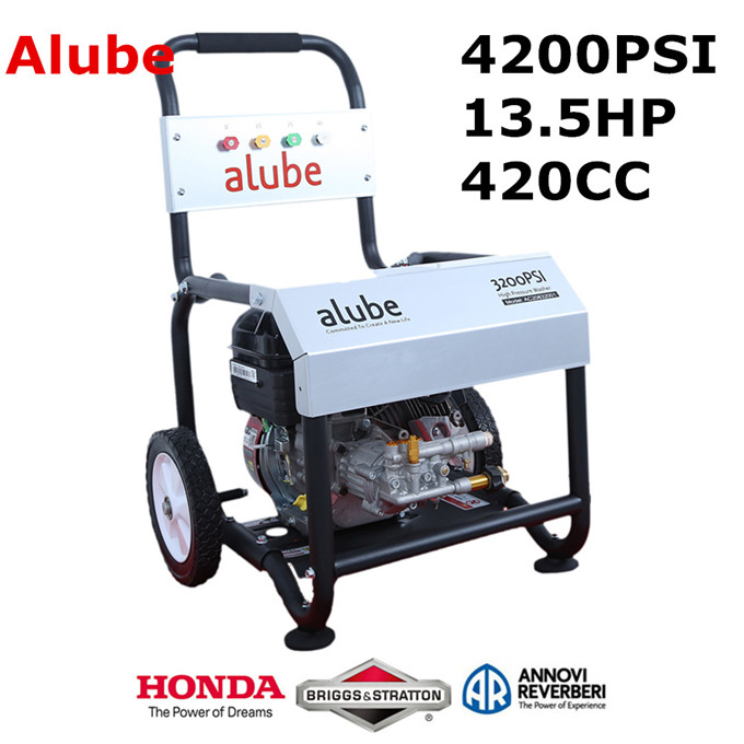 4200psi 290bar 13.5hp gasoline pressure washer