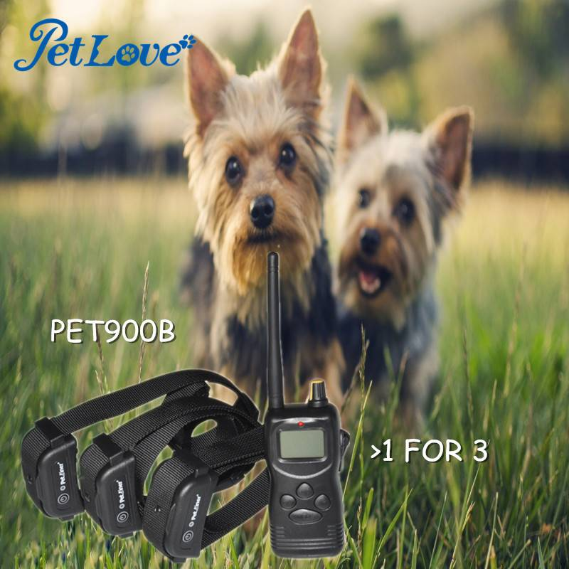 1000m Remote Multi-Dog Training System for 3 Dogs