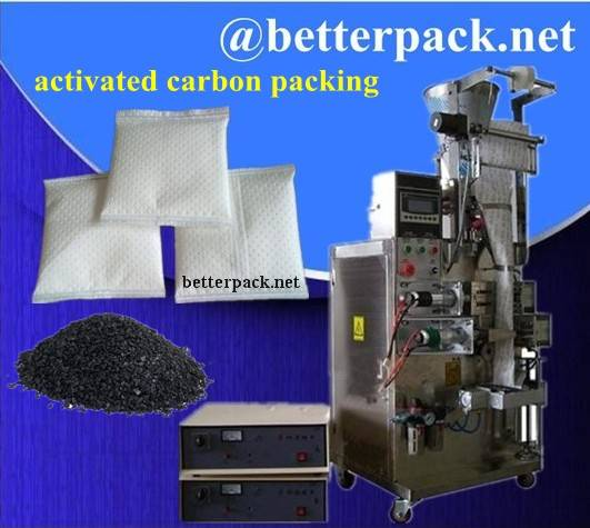 activated carbon packing machine for non woven bag activated carbon packets