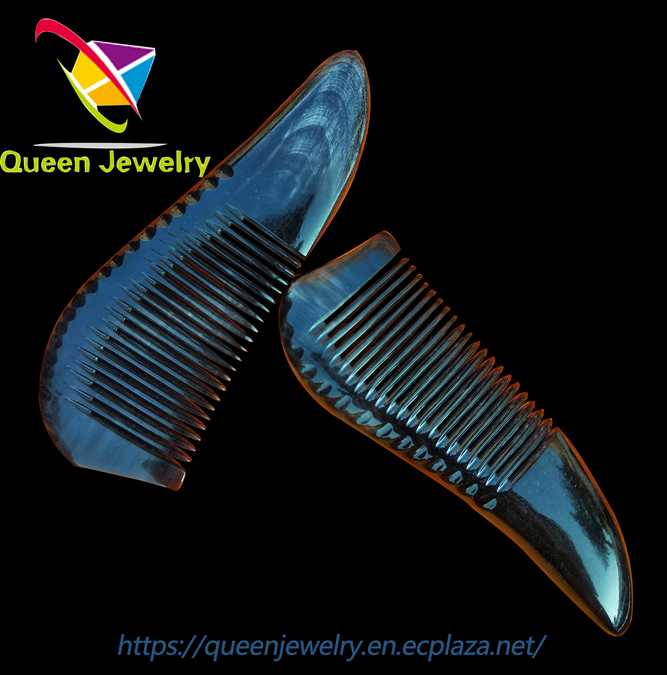 mid fade comb over Natural Ox Horn combs for healthy hairdressing