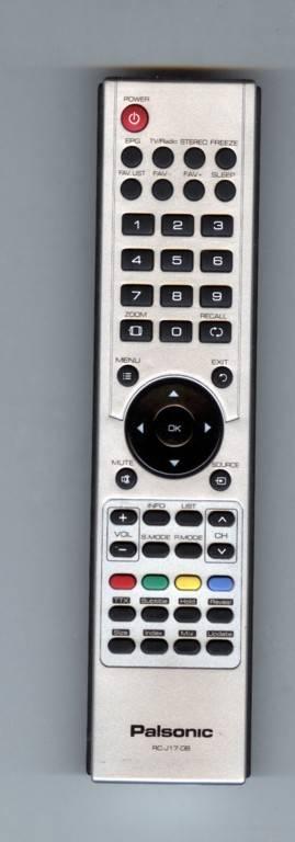 TV Remote Control Xiahua LCD RC-J17-08