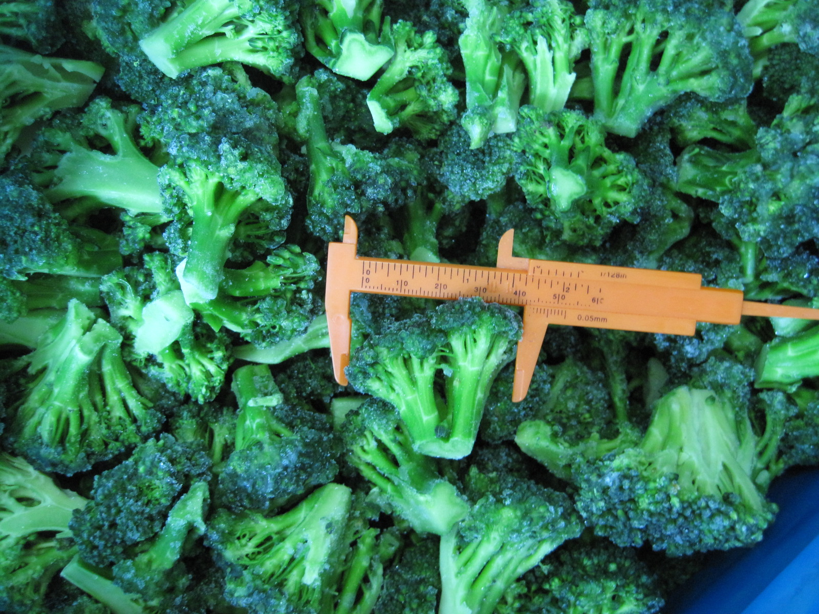 2017 IQF Grade A green frozen broccoli spears cheap price