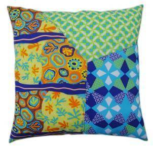 Multicolored-Printed pillow