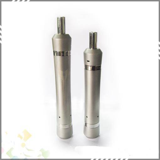 Top Quality Valkyrie Clone Stainless Steel Mechanical Mod W Coil Vaporizer fit with 18650 Dry Batter