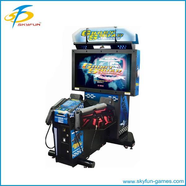Simulator shooting machine
