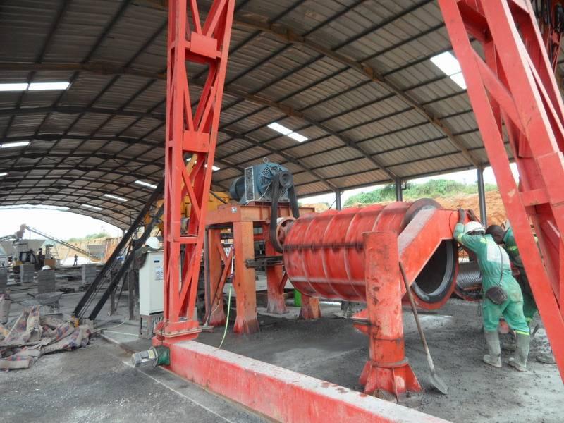 CE standard concrete drain pipe making machine
