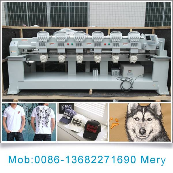 6 head embroidery machine for sale