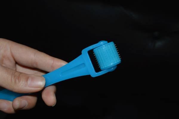 beauty design 192 needles titanium derma roller for anti wrinkle and skin care derma roller
