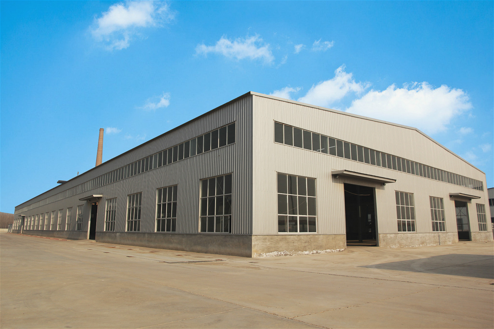 Configured Prefab Light Steel Structure Backup Warehouse