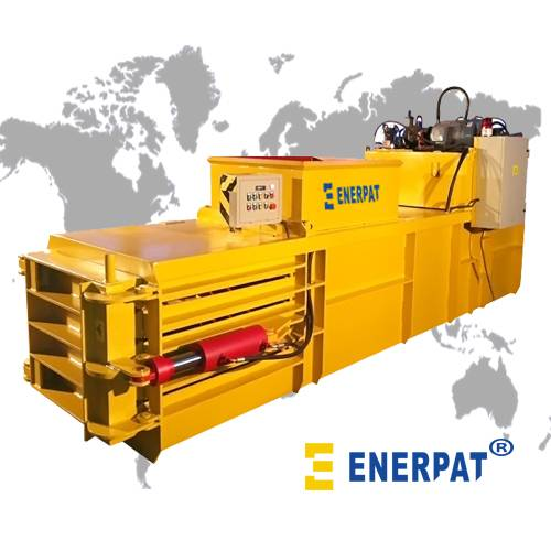 Automatic waste paper baler